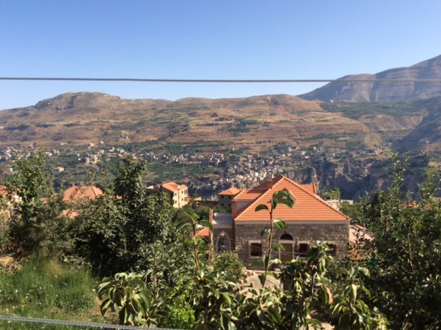 Bechary Lebanon- view from hotel